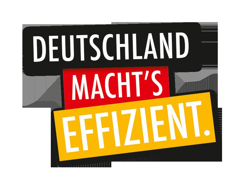 Deutschland macht´s effizient